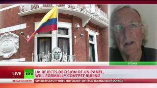 'Assange's only crime is telling world how it is secretly run' – John Pilger
