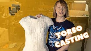 How to Make a Plaster Torso Life Cast - Prop: Shop
