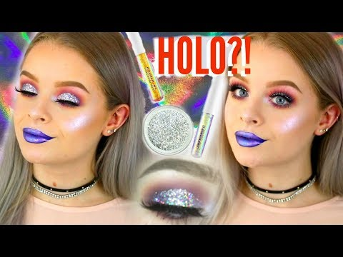 TESTING HOLOGRAPHIC MAKEUP!? | sophdoesnails