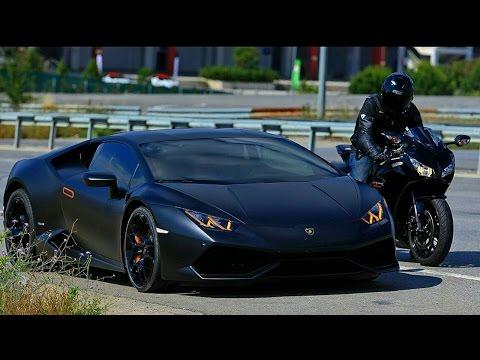 Lamborghini Huracan VS 14 CBR 1000RR