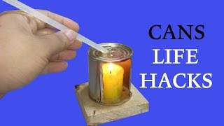 4 Ideas And Life Hacks About Cans