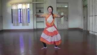 Chauka 1: Learn Odissi dance basic steps with Merle O'Brien