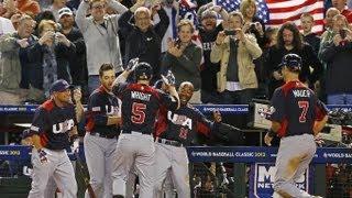 2013 USA World Baseball Classic Run
