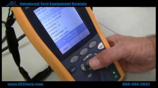 How to Use a Fluke DTX-1800 Cable Analyzer