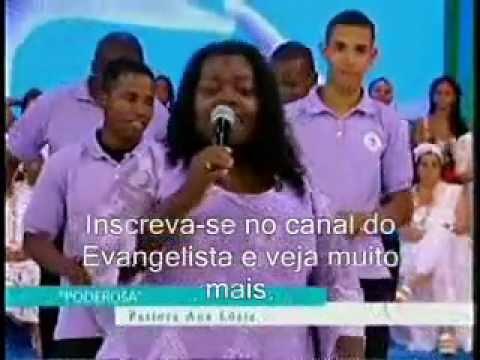 PASTORA ANA LÚCIA NO PROGRAMA ESQUENTA DA GLOBO 01 01 2012 ESQUENTA