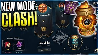 CLASH: NEW GAME MODE EXPLAINED! InGame Tournament For ALL ELOS & New Free Rewards! League of Legends