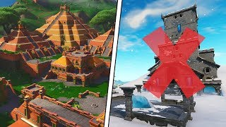 Fortnite Season 8 Locations that are Disappearing!