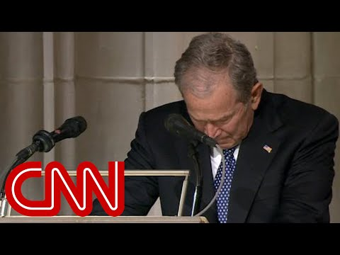Xxx Mp4 George W Bush Cries Delivering Eulogy For His Father George HW Bush Full Eulogy 3gp Sex