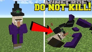 Minecraft: DO NOT KILL MOBS!!! (NEW MOB DEATHS!) Mod Showcase