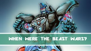 When Were the Beast Wars? | Transformers More Lore #2