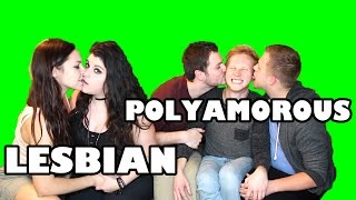 NEWLYWED GAME (Lesbian Couple vs Polyamorous Throuple)