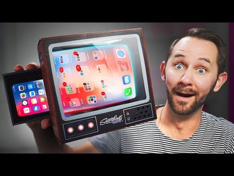 Turn Your Smartphone Into A TV 10 Ridiculous Tech Gadgets