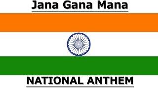 Jana Gana Mana || Indian National Anthem For Kids || Patriotic Song