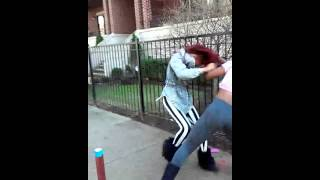 LaNiyah VS Paris (Two Trannies Fighting)