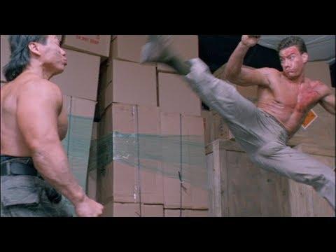 Double Impact Fight Scene Van Damme vs. Bolo HD