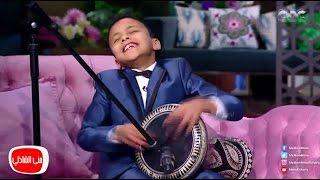 معكم منى الشاذلى - طفل 7 سنوات يٌبهر الجميع بعزف على الطبلة ويشعل الأستوديو
