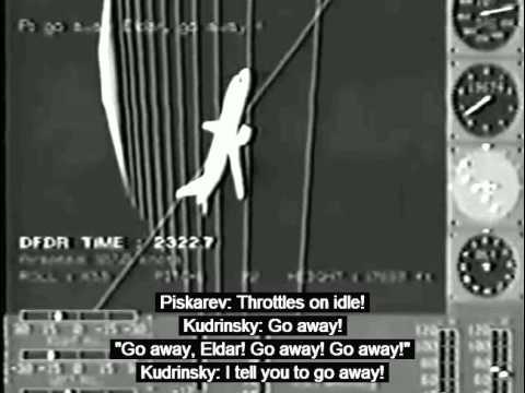 Aeroflot Flight 593 Crash Animation CVR