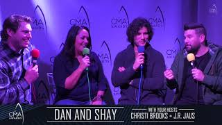 CMA Interview with DAN AND SHAY
