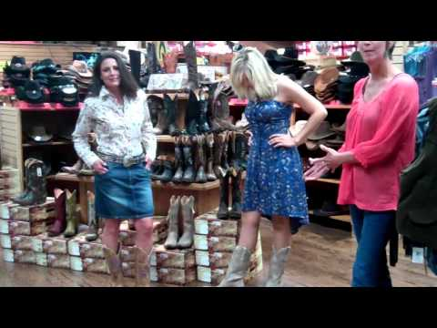 What to Wear with Cowboy Boots Skirts Dresses etc. with F.M. Light and Sons