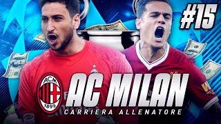 FIFA 18 CARRIERA ALLENATORE #15 - MILAN vs LIVERPOOL CHAMPIONS LEAGUE - OTTAVI DI FINALE