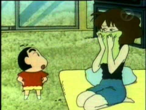 Shin Chan - Mama Suka Tidur