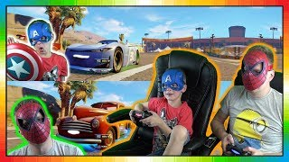 Cars 3 Driven To Win gameplay ★★ Cam Spinner Vs Smokey ★★ David Vs Papa