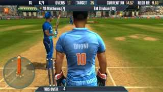 ICC Pro Cricket 2015 PC 60FPS Gameplay Sri Lanka vs India | 1080p