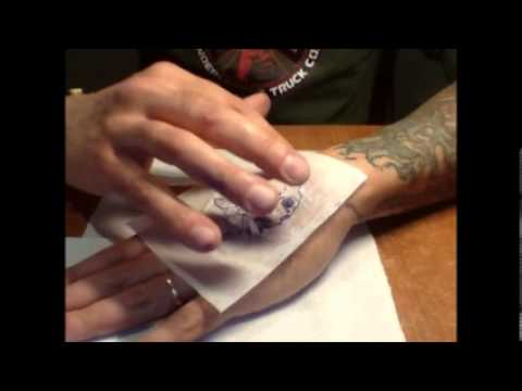 come si stampa un tatuaggio by Marco pesci