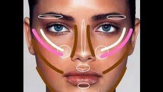 Cómo Perfilar (adelgazar) el Rostro con Maquillaje - Anastassia Sfeir