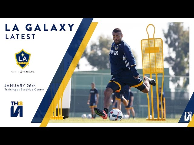 They're back! LA Galaxy return to training in 2017 | LATEST