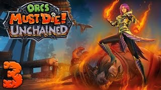 Orcs Must Die Unchained - #3 - Block Heads (3 Player Gameplay)