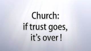 One thing churches could do to build trust