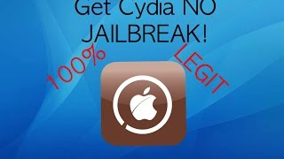 How to get Cydia **NO PC OR JAILBREAK**