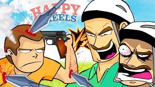 UN TIMMY VS DOS PAPIS | HAPPY WHEELS #184