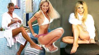 Michelle Hunziker piedi nudi feet barefoot