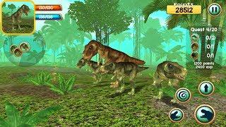 Tyrannosaurus Rex Survival Simulator 3D - IOS Gameplay
