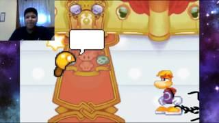 Luigi GX reacts to Mario vs Rayman Cartoon Fight Club