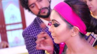 GURUKUL Anurag makeup mantra  AFREEN!!! Arabic bridal makeup at its best!  10 days hair style diplo