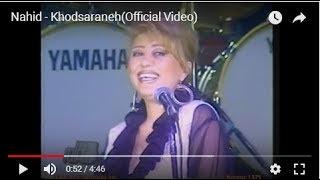 Nahid - Khodsaraneh(Official Video)