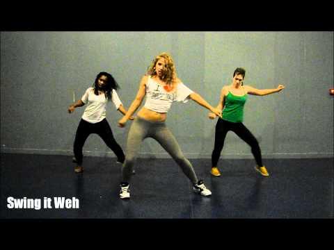 KES Precision Wine Dancehall Soca Choreo by Aya