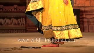 Shinjini Kulkarni performs Kathak recital: Khajuraho Dance Festival 2017