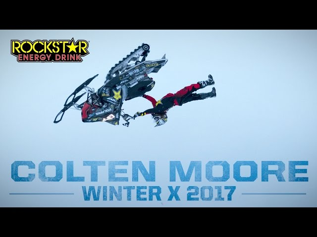 Colten Moore Prepares for Winter X Games & The Double Back Flip 2017