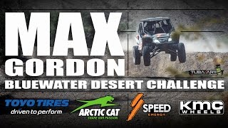 Max Gordon at the BlueWater Desert Challenge 2016