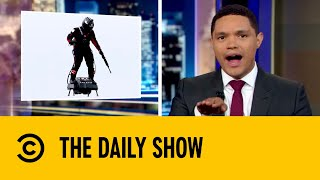 Military Develops Hover Board Technology | The Daily Show with Trevor Noah