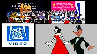 Fox Victor Ochoa give a Copyright Strike from 20th Century Fox and TCF Video and gets defeated
