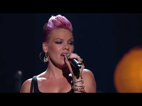 P!nk & Nate Ruess - Just Give Me A Reason (Live) Video Clip