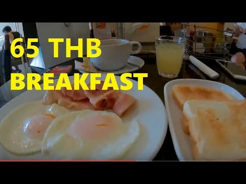 Breakfast fruitshakes and valentine in Pattaya