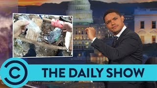 The Art Of Planting Evidence - The Daily Show | Comedy Central