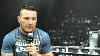 EFC 45 Media Day: Gideon Drotschie
