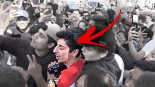 I GOT ATTACKED BY FANS!! (ft. FaZe Banks and Alissa Violet) *POLICE CALLED*